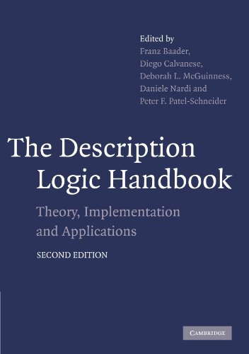 9780521150118: The Description Logic Handbook: Theory, Implementation and Applications