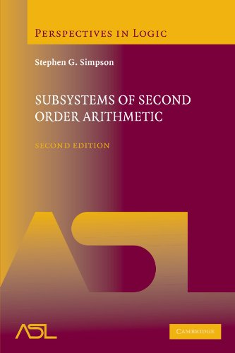 9780521150149: Subsystems of Second Order Arithmetic (Perspectives in Logic)