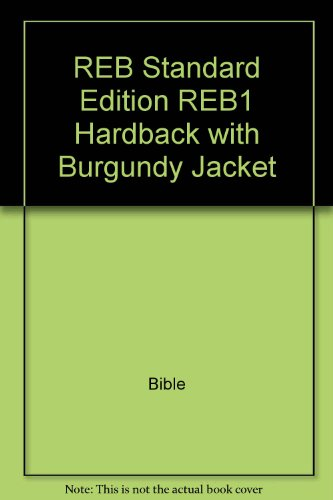 9780521151368: REB Standard Edition REB1 Hardback with Burgundy Jacket
