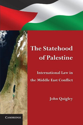 9780521151658: The Statehood of Palestine: International Law in the Middle East Conflict
