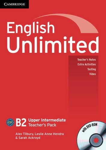 9780521151702: English Unlimited Upper Intermediate Teacher's Pack (Teacher's Book with DVD-ROM)
