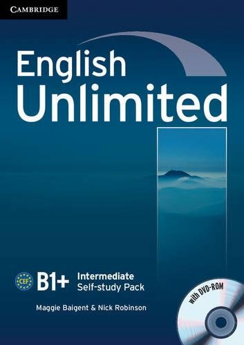 9780521151825: English Unlimited Intermediate Self-study Pack (Workbook with DVD-ROM)