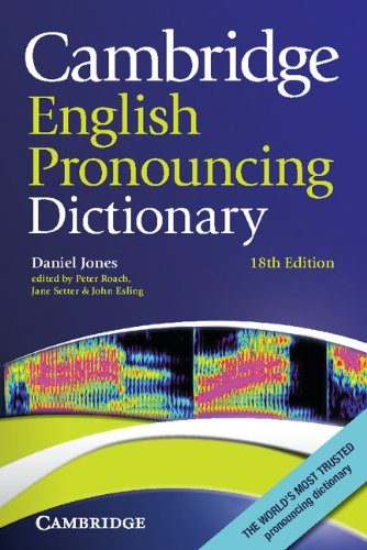 9780521152532: Cambridge English Pronouncing Dictionary 18th Paperback