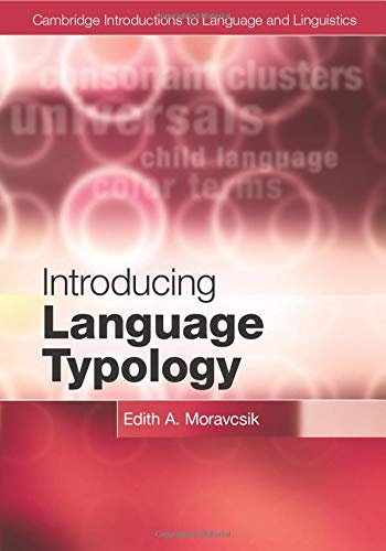 9780521152624: Introducing Language Typology (Cambridge Introductions to Language and Linguistics)