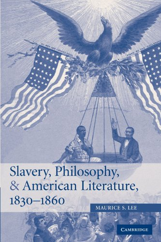 9780521152686: Slavery, Philosophy, and American Literature, 1830-1860 (Cambridge Studies in American Literature and Culture)
