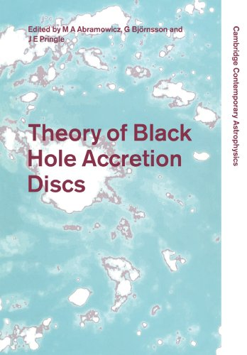9780521152952: Theory of Black Hole Accretion Discs (Cambridge Contemporary Astrophysics)