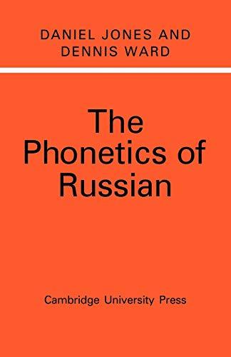 9780521153003: The Phonetics of Russian