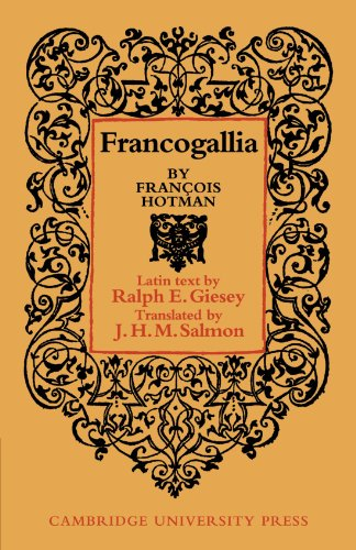 9780521153188: Francogallia (Cambridge Studies in the History and Theory of Politics)