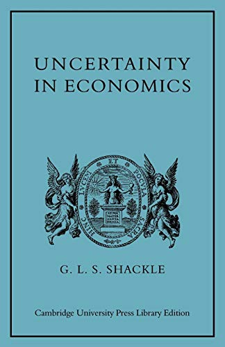 9780521153317: Uncertainty in Economics and Other Reflections Paperback