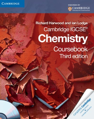 9780521153331: Cambridge IGCSE Chemistry Coursebook with CD-ROM