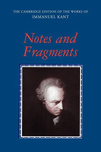 9780521153515: Notes and Fragments