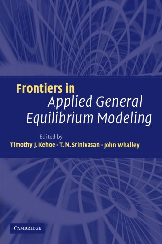 9780521153737: Frontiers in Applied General Equilibrium Modeling: In Honor of Herbert Scarf