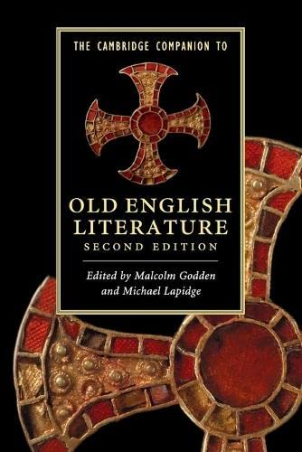 9780521154024: The Cambridge Companion to Old English Literature (Cambridge Companions to Literature)
