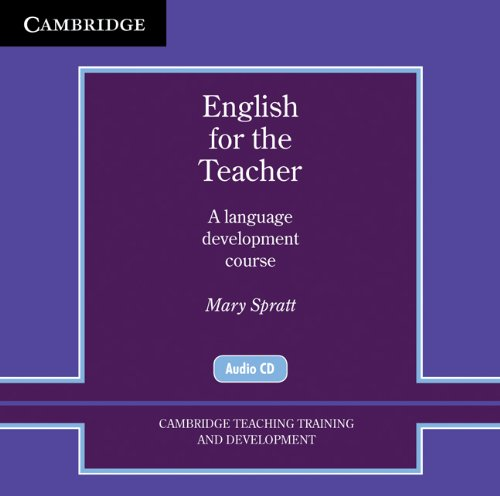 9780521154970: English for the Teacher Audio CDs (2) (Cambridge Teacher Training and Development)