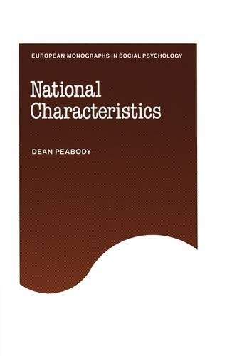 National Characteristics: Dean Peabody