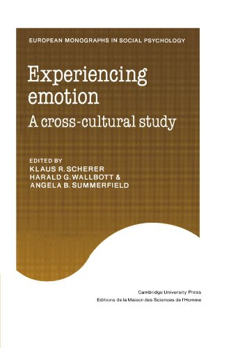 9780521155014: Experiencing Emotion: A Cross-Cultural Study (European Monographs in Social Psychology)