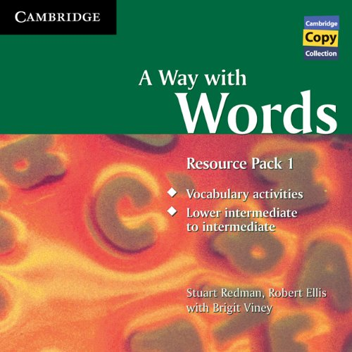 9780521156028: A Way with Words Resource Pack 1 Audio CD (Cambridge Copy Collection)