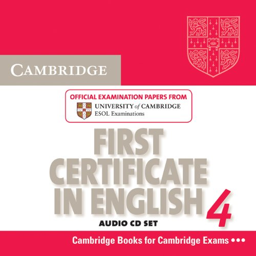 9780521156967: Cambridge First Certificate in English 4 for Updated Exam Audio CDs (2): Official Examination Papers from University of Cambridge ESOL Examinations
