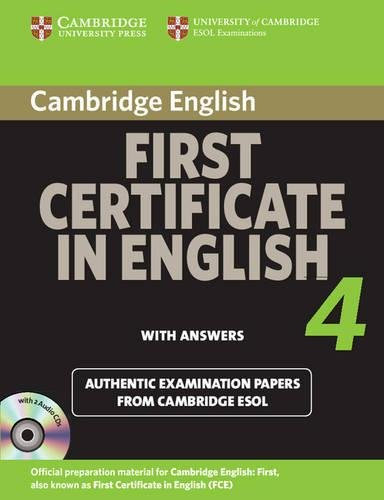 9780521156974: Cambridge First Certificate in English 4 for Updated Exam Self-study Pack (Student's Book with answers and Audio CDs (2)): Official Examination Papers from University of Cambridge ESOL Examinations