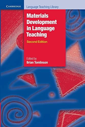 9780521157049: Materials Development in Language Teaching (Cambridge Language Teaching Library)