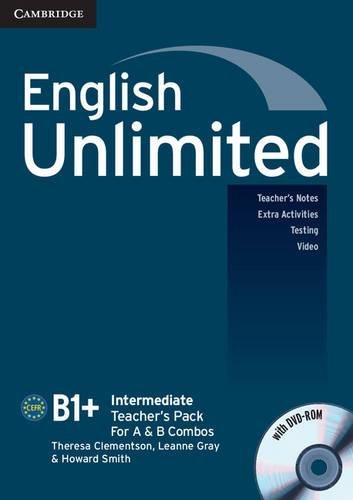 9780521157179: English Unlimited for Spanish Speakers Intermediate Teacher's Pack (Teacher's Book with DVD-ROM) (English Unlimited Intermediate)