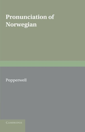 9780521157421: Pronunciation of Norwegian