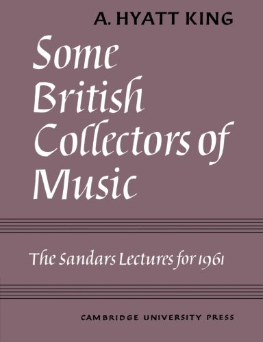 9780521157438: Some British Collectors of Music c.1600-1960 Paperback