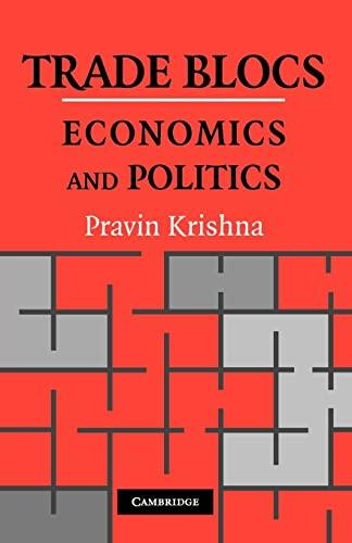 9780521158114: Trade Blocs: Economics and Politics (Japan-US Center UFJ Bank Monographs on International Financial Markets)