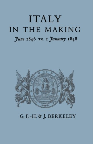 9780521158633: Italy in the Making June 1846 to 1 January 1848