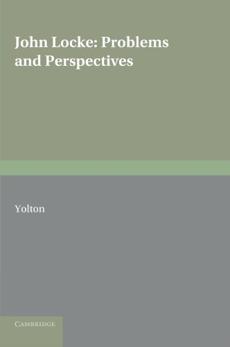 9780521158916: John Locke: Problems and Perspectives: A Collection of New Essays