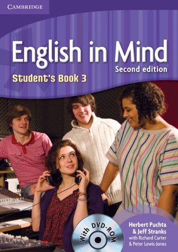 9780521159487: English in mind. Level 3. Student's book. Con DVD-ROM. Per le Scuole superiori