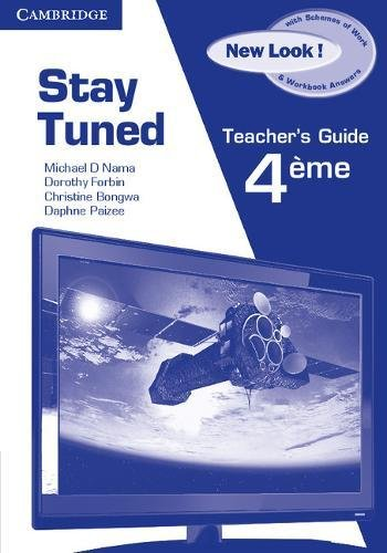 9780521159548: Stay Tuned New Look! Teacher's Book for 4éme
