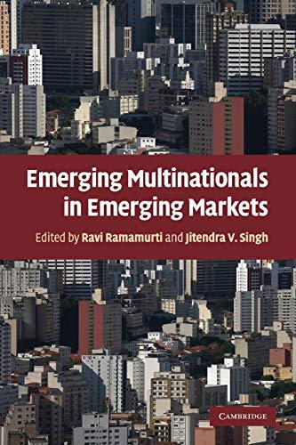 9780521160186: Emerging Multinationals in Emerging Markets