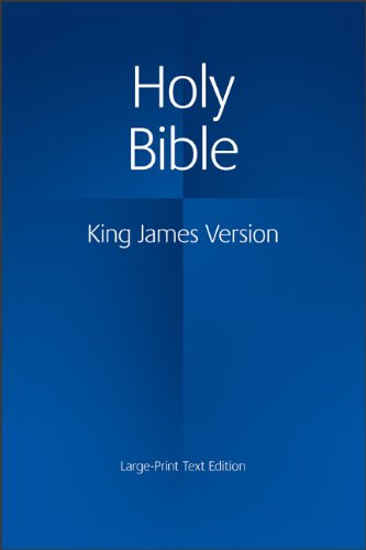 9780521163347: KJV Large Print Text Bible KJ650:T: Authorized King James Version