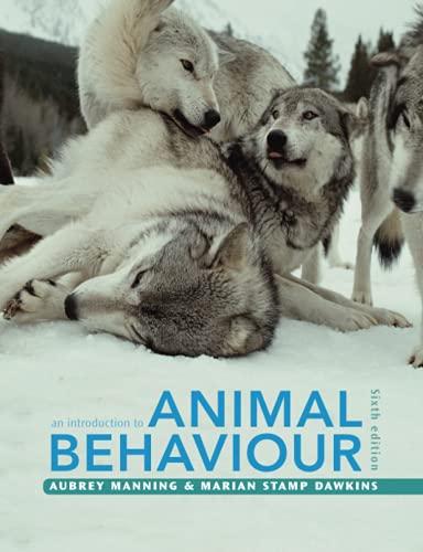 9780521165143: An Introduction to Animal Behaviour