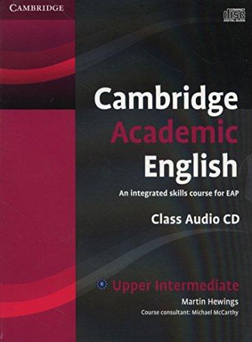 9780521165235: Cambridge Academic English B2 Upper Intermediate Class Audio CD
