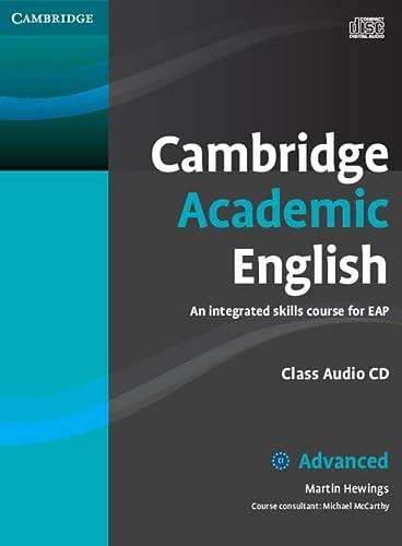 9780521165242: Cambridge Academic English C1 Advanced Class Audio CD