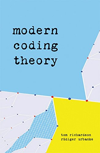 9780521165761: Modern Coding Theory
