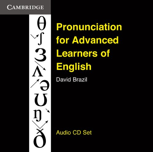 9780521166720: Pronunciation for Advanced Learners of English Audio CDs (3)