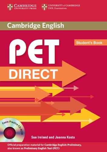 9780521167116: Pet direct. Student's book. Per la Scuola media. Con CD-ROM