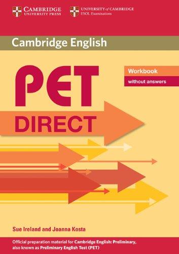 9780521167147: Pet direct. Workbook. Without answers. Con espansione online. Per la Scuola media (Cambridge Books for Cambridge Exams)