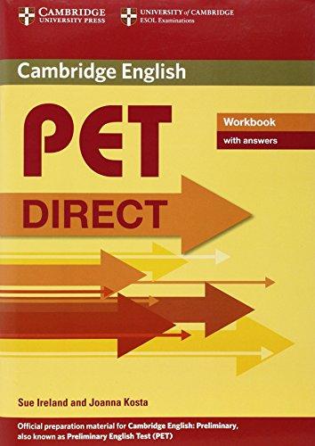 9780521167154: Pet direct. Workbook. With answers. Con espansione online. Per la Scuola media
