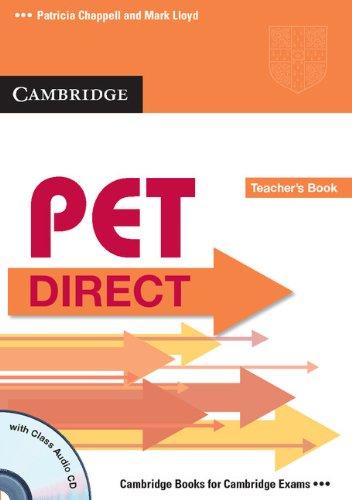 9780521167161: PET Direct Teacher's Book with Class Audio CD