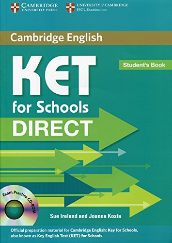 9780521167178: KET for schools direct. Student's book. Per la Scuola media. Con CD-ROM