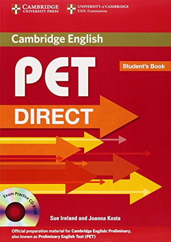 9780521167222: Pet direct. Student's book-Workbook without answers. Per la Scuola media. Con CD-ROM
