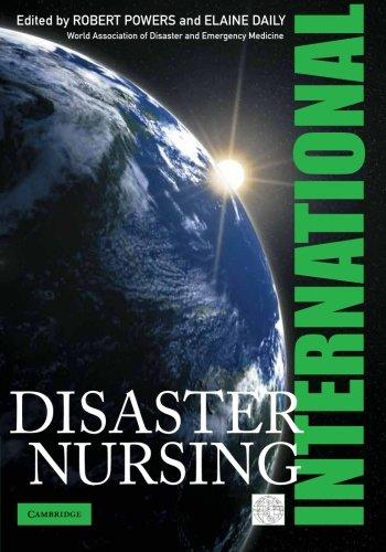 9780521168007: International Disaster Nursing