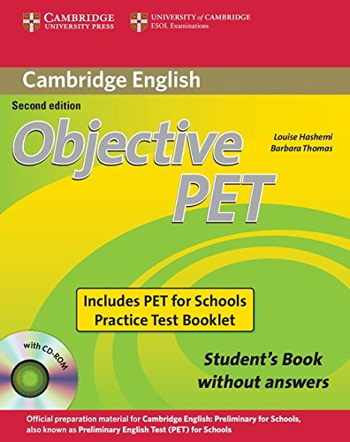 9780521168274: Objective PET For Schools Pack without Answers (Student's Book with CD-ROM and for Schools Practice Test Booklet)