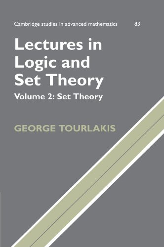 9780521168489: Lectures in Logic and Set Theory: Volume 2, Set Theory (Cambridge Studies in Advanced Mathematics)