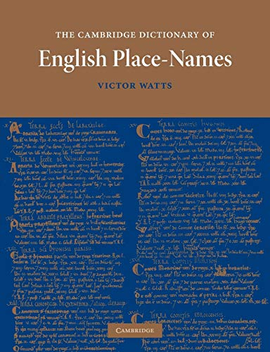 9780521168557: The Cambridge Dictionary of English Place-Names: Based on the Collections of the English Place-Name Society