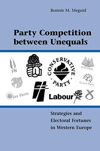 9780521169080: Party Competition between Unequals Paperback (Cambridge Studies in Comparative Politics)